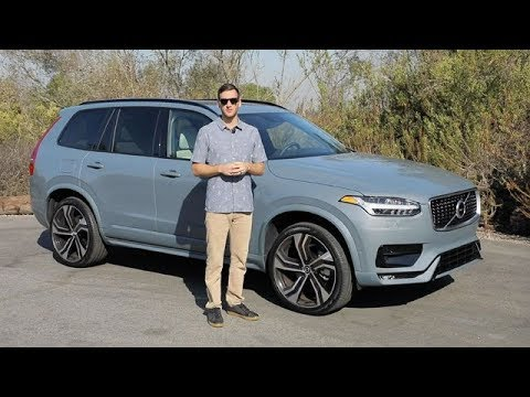 2020 Volvo Xc90 R Design Test Drive Video Review