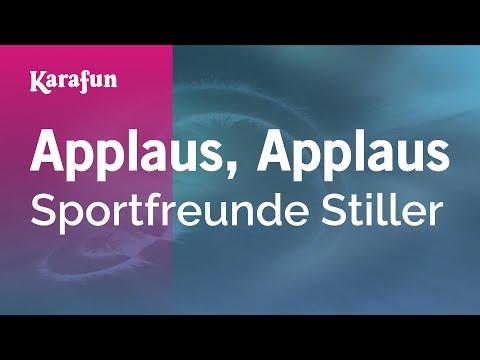 Karaoke Applaus, Applaus - Sportfreunde Stiller *