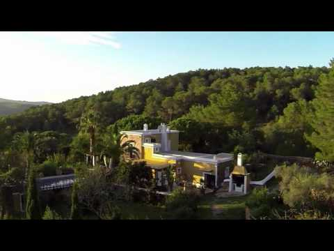 Stunning video over a real Ibiza country house