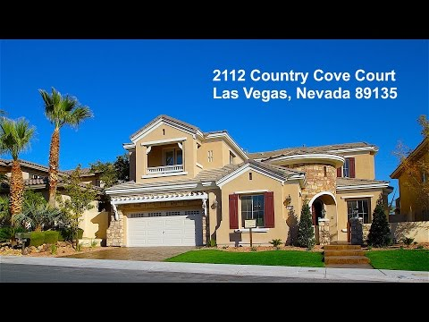 """SOLD"" 2112 Country Cove Ct  Las Vegas, Nevada  89135"