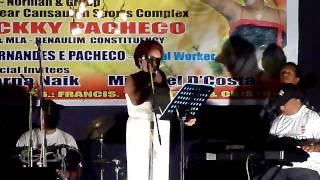 Lorna singing - Grateful to God for her Golden Voice..