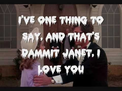 The Rocky Horror Picture Show - Dammit Janet! Lyrics mp3
