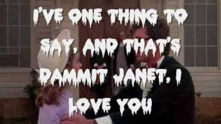 The Rocky Horror Picture Show - Dammit Janet! Lyrics
