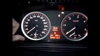 Обнуление тормозных колодок на приборной панели BMW 525 e60