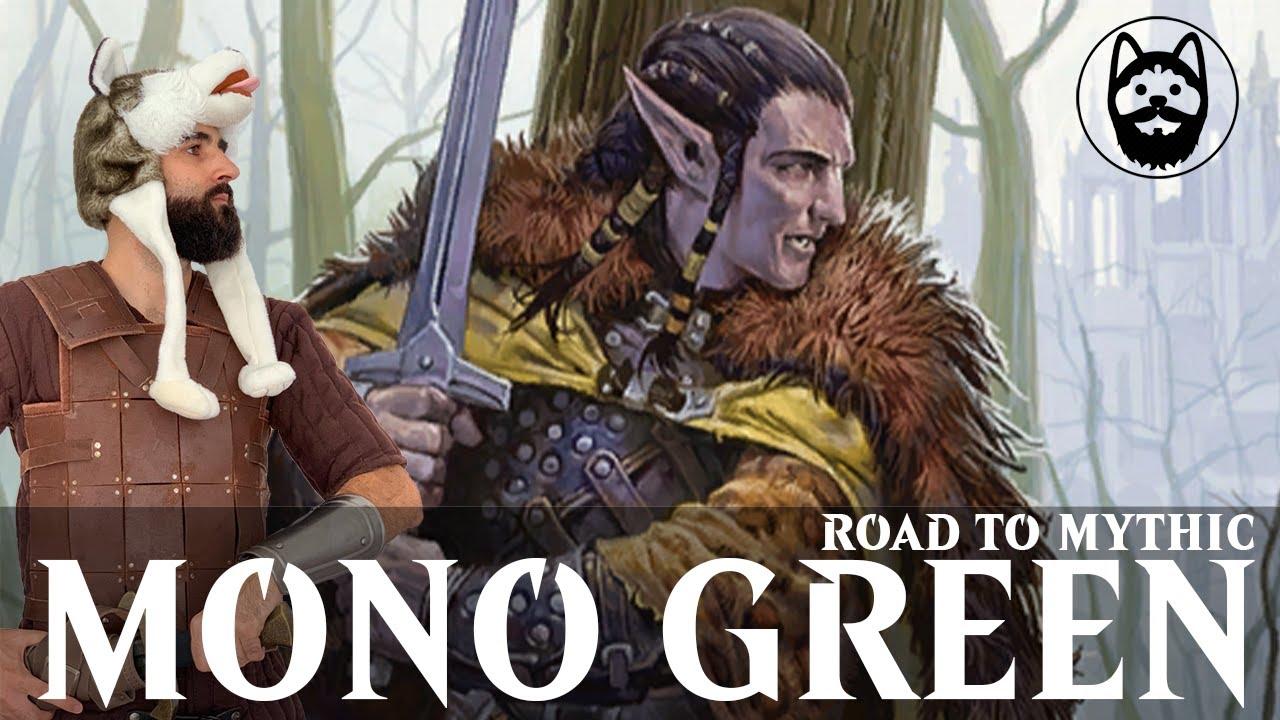 🐺 MONO GREEN Bo3 en el Road to Mythic