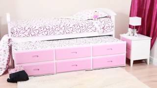 Bedkingdom Sweet Dreams Ruby Captains Bed Frame