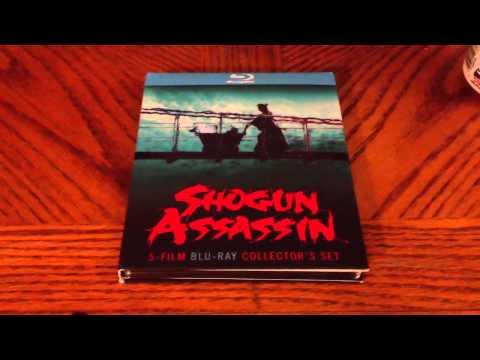Shogun Assassin Bluray Set Overview
