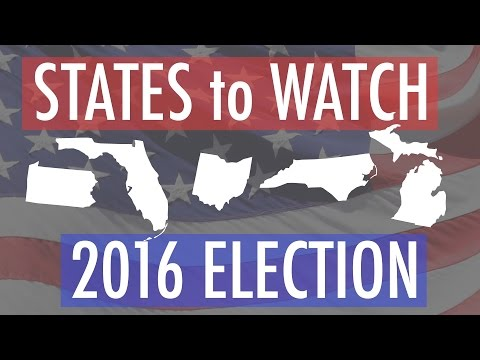 States to watch in the 2016 election