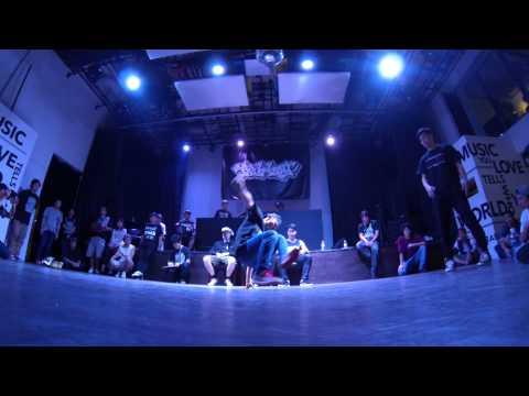 yasurock vs Tobacco【Be.b-boy TOKYO(2014.7.21) / BEST16】