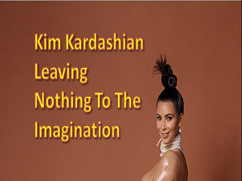 Kim Kardashian Paper Magazine Naked Leaked Celebrity Photos
