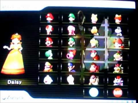 How To Unlock All Charakters In Mario Kart Wii German