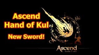 Ascend Hand of Kul Gameplay (PC Beta) - New Epic Sword!