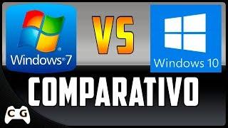 Windows 10 LTSB Gamer vs Windows 7 Teste Comparativo Bem Detalhado