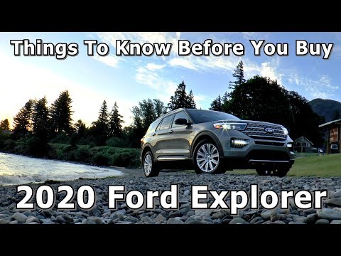 Things To Know Before You Buy - 2020 Ford Explorer (Platinum, Hybrid, ST)