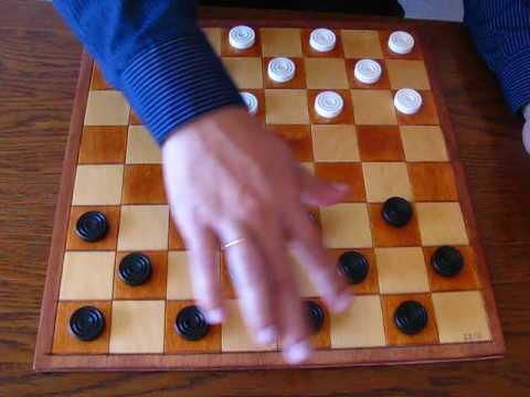 Как находить и проводить комбинации. Шашки. Обучение. Video Lesson How To Play Draughts.