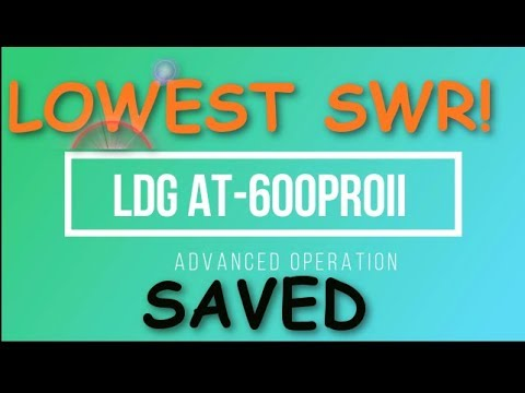 LGD AT 600ProII Autotuner Advanced Operation