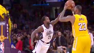 Patrick Beverly GAME WINNER BLOCK Against Lebron James  Clippers vs Lakers Christmas Day 12.25.2019