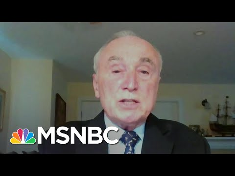 Commissioner Bratton On Capitol Attack: 'It's Very Disheartening' | Stephanie Ruhle | MSNBC