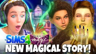 NEW Sims 4 Realm Of MAGIC 1