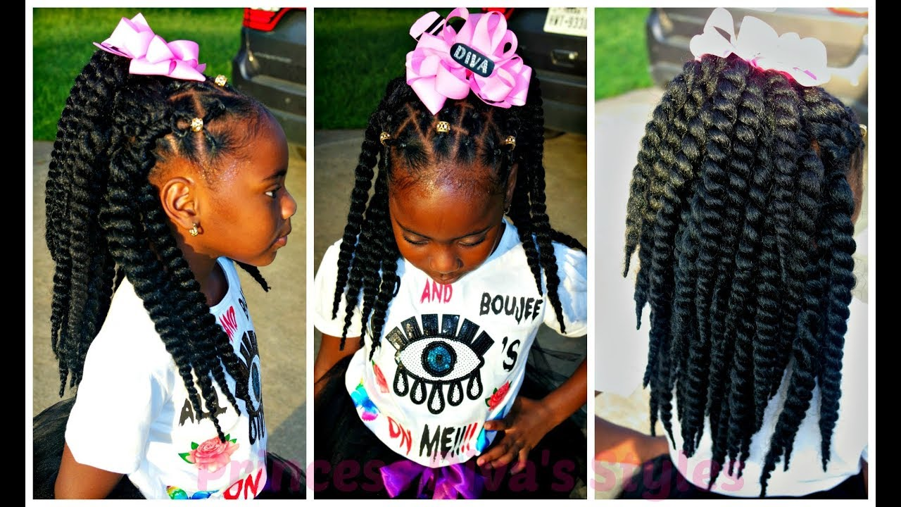 Lil Girl Hair Braiding Styles: Diva First Day Of 3rd Grade Hairstyle & OOTD