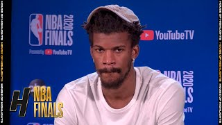 Jimmy Butler Postgame Interview - Game 1 | Heat vs Lakers | September 30, 2020 NBA Finals