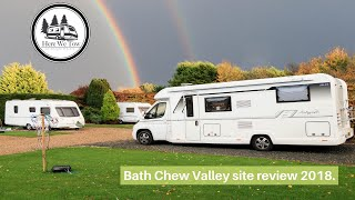 Bath Chew Valley campsite review Nov 2018
