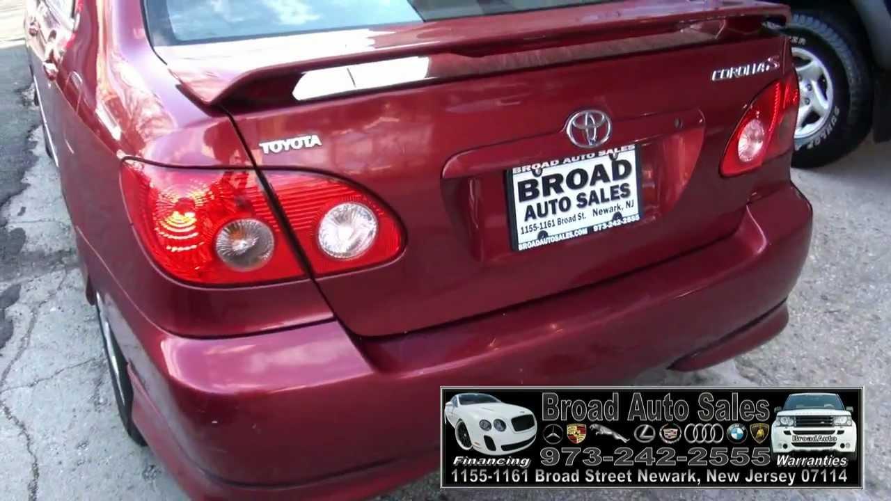 2005 Toyota Corolla S Youtube