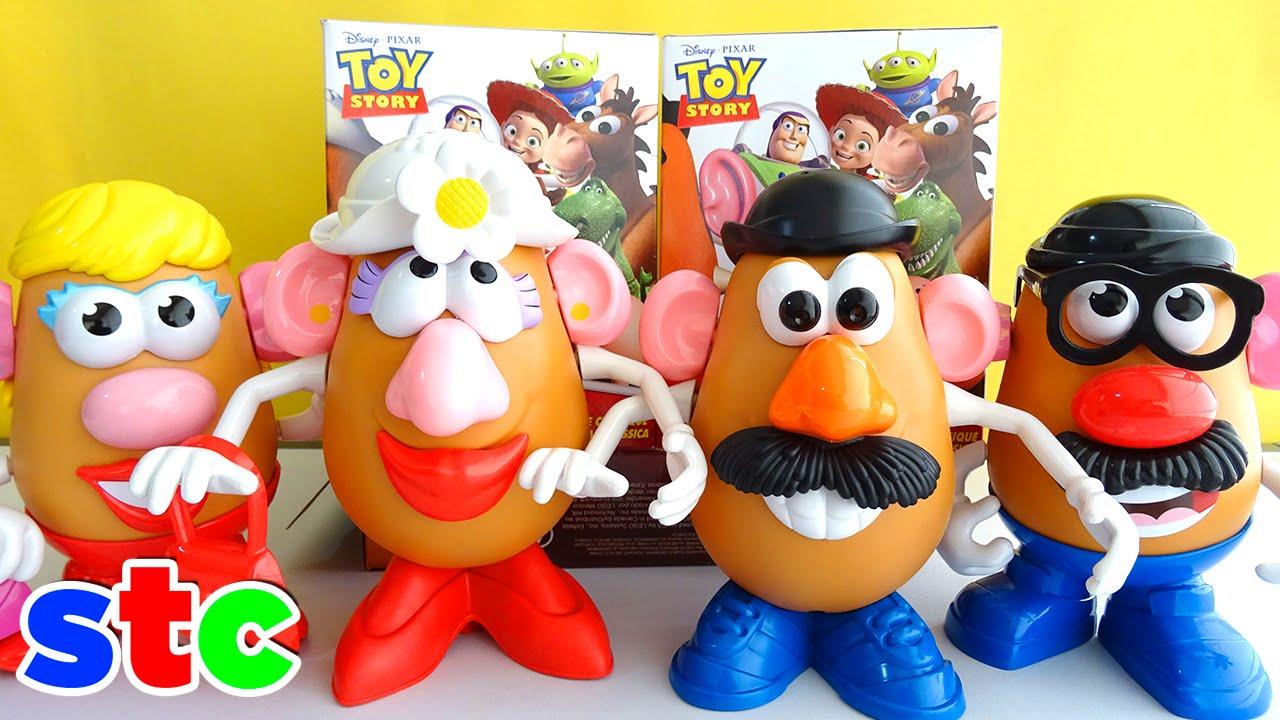 Señor Patata Colección Clasica de Toy Story | Unboxing Patatas Clasicas -  YouTube