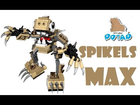 Lego Mixels Series 3 Spikels Max Unboxing Review Instructions