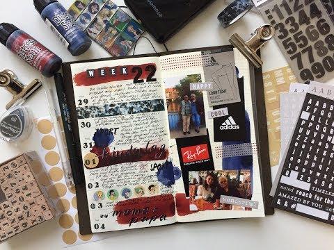 Traverler's Notebook Wochendeko KW 22 // dummesmaedchen