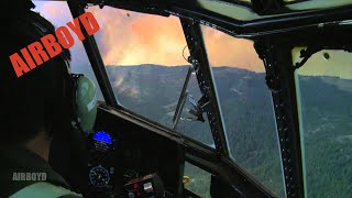 C-130 Over California Fires (2012)