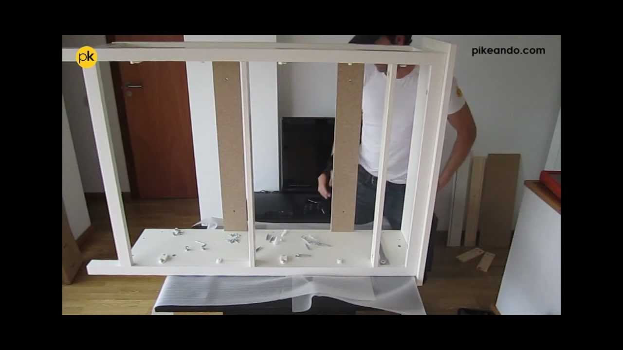c mo montar zapatero ikea serie hemnes subtitles youtube. Black Bedroom Furniture Sets. Home Design Ideas