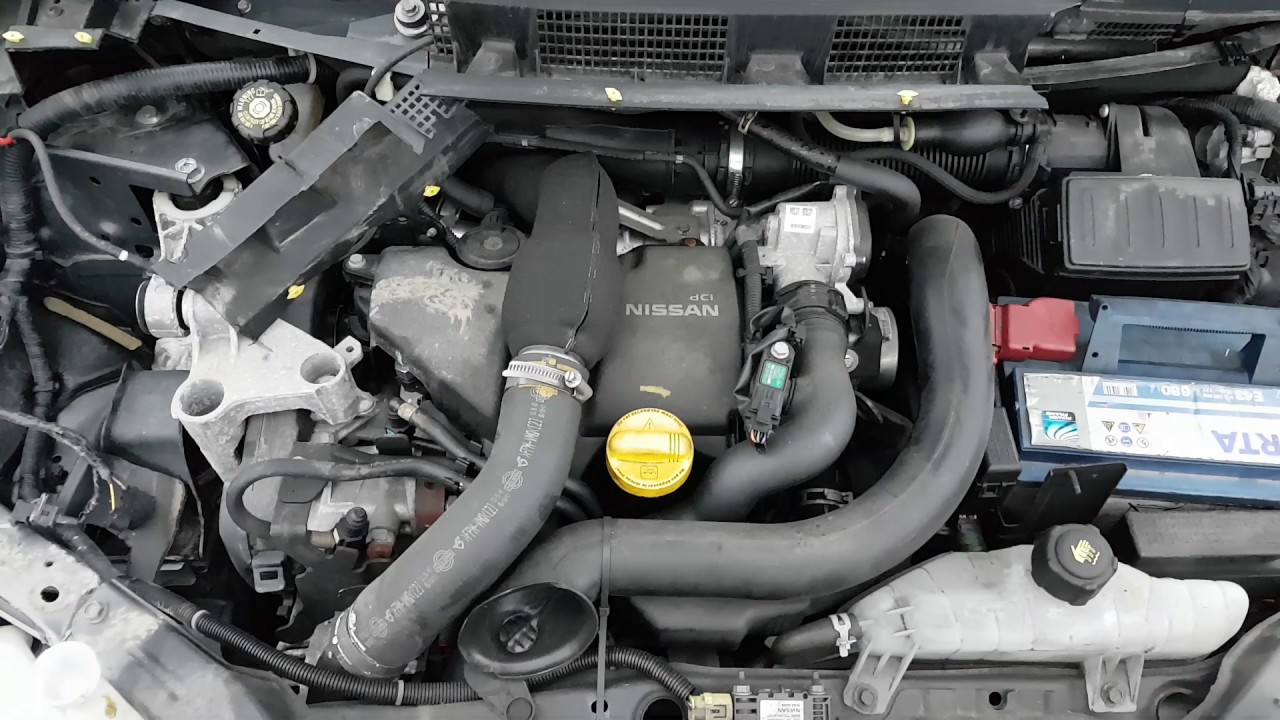 Engine - Car recycler parts Nissan Note, 2011 1.5 dCi 76kW Diesel ...