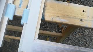Proměna dřevěných kastlových oken Osmo - odstín bílá