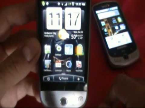 HTC Hero vs Samsung Moment Final Decision part 1