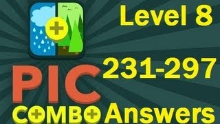 Pic Combo Level 8 231-297 Answers