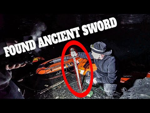 LEGENDARY SWORD FOUND IN THE UNDERGROUND CAR CAVE 2/2