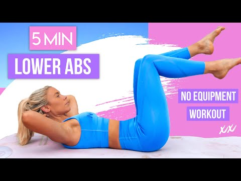 5-minute-lower-abs-workout-👙💕-burn-belly-fat-fast