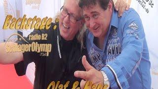 Olaf & Hans Backstage B2 SchlagerOlymp 2014