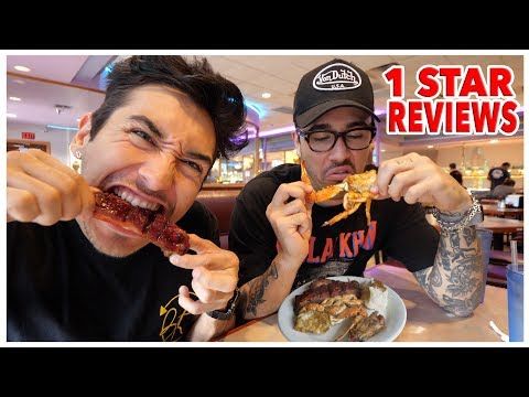 Eating At The WORST Reviewed BBQ Restaurant In Texas (1 STAR)