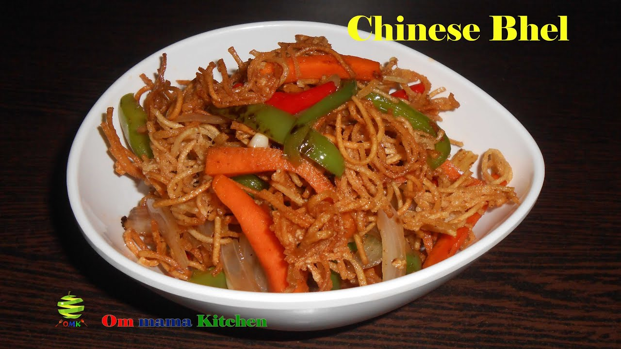 Crispy chinese bhel youtube crispy chinese bhel forumfinder Image collections