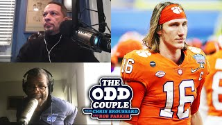 Trevor Lawrence Responds to Criticisms of His Passion for Football | THE ODD COUPLE
