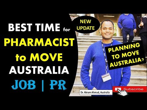 GOOD NEWS For PHARMACIST IMMIGRATION TO AUSTRALIA | PHARMACIST PR For AUSTRALIA