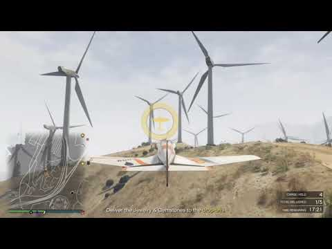GTA 5 Online Air Cargo Sell Mission Alpha-Z1