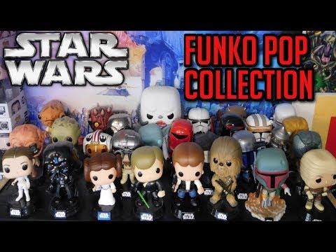 My Star Wars Funko Pop Collection!