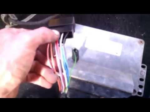 разбор с инжекторной проводкой