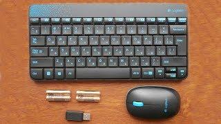 Обзор Беспроводного комплекта клавиатура и мышь Logitech Wireless Combo MK240