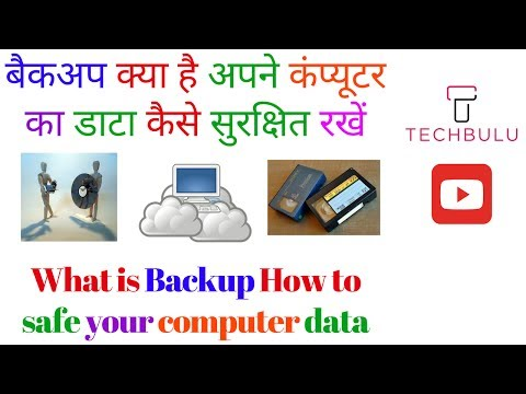 What is Backup and Restore - Types of Backup - Archiving - E