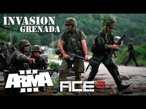 Arma 3 - OPERATION URGENT FURY - Grenade Invasion