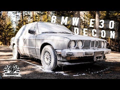 Auto Detailing ASMR! BMW E30 Decontamination Wash